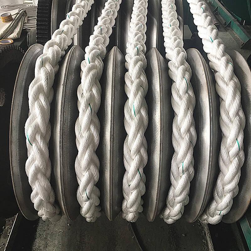 Anchor Mooring Rope Multiplait Octoplait 20mm 8 Strand Navy Nylon Rope x 30mts